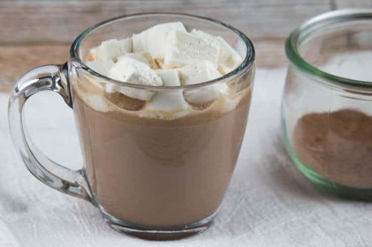 Nourishing Hot Cocoa with Honey-Sweetened Marshmallows (Dairy-Free Option)