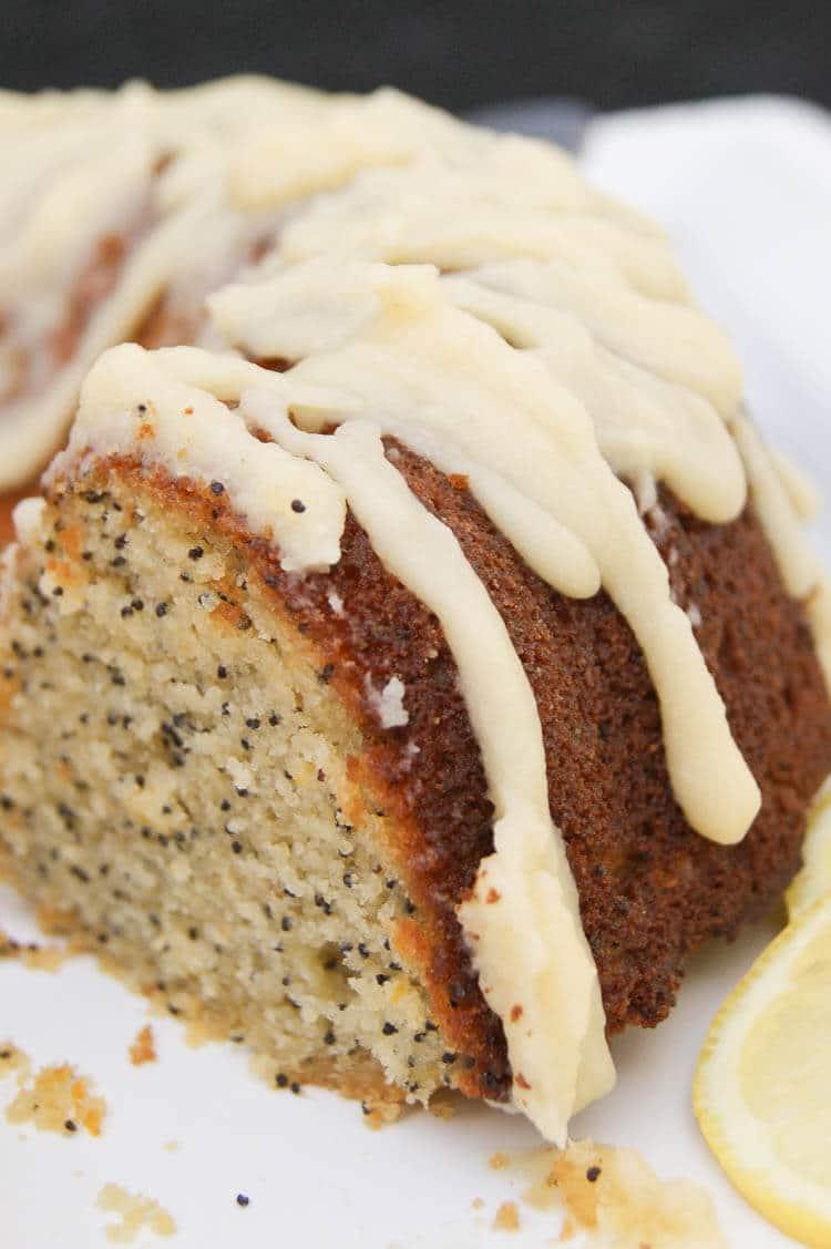 Gluten Free Lemon Poppyseed Cake