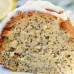 Lemon Poppyseed Bundt Cake | Gluten Free - This delicious grain free desert has the perfect blend of tartness and the delicate sweetness from honey.