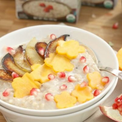 Fall Inspired Steel Cut Oatmeal