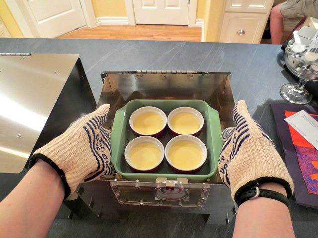 Make Creme Brûlée with the HERC Oven