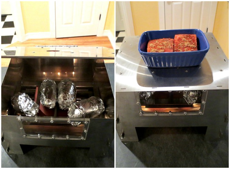 Baking with the HERC Oven - Fish & Potatoes