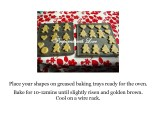 Prepared with Love Gingerbread Biscuits Step by Step Instructions