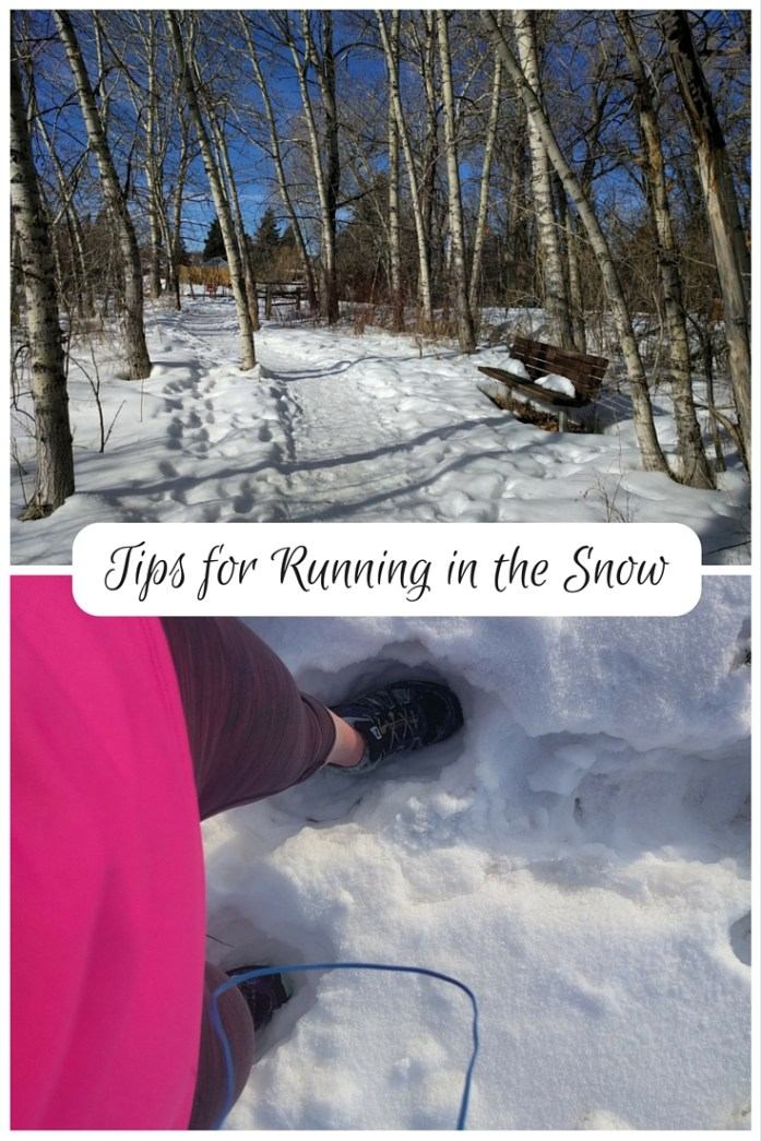 3 Tips for running in snow