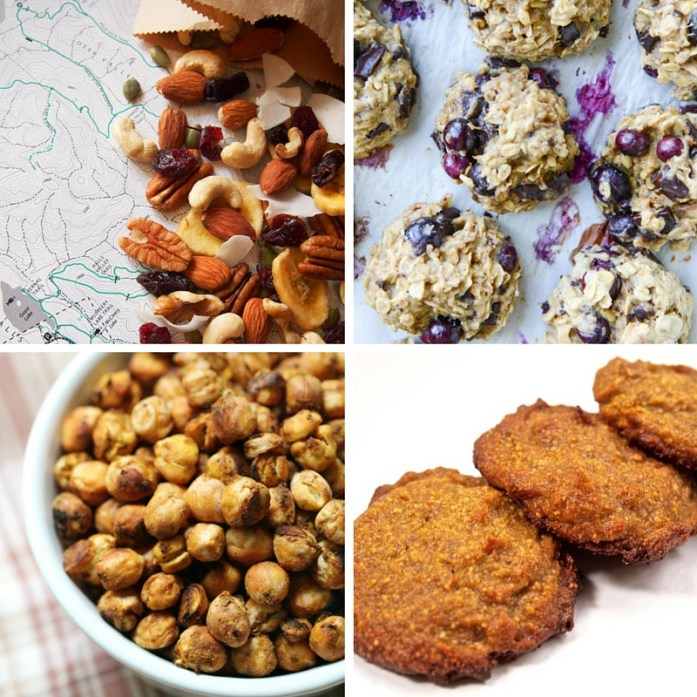 Hiking snacks: recipes for trail mix, cookies, roasted chickpeas