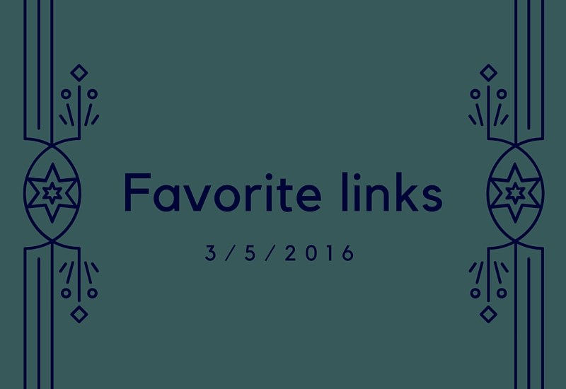 Favorite links of the week 3/5/2016 - running, health, science, recipes