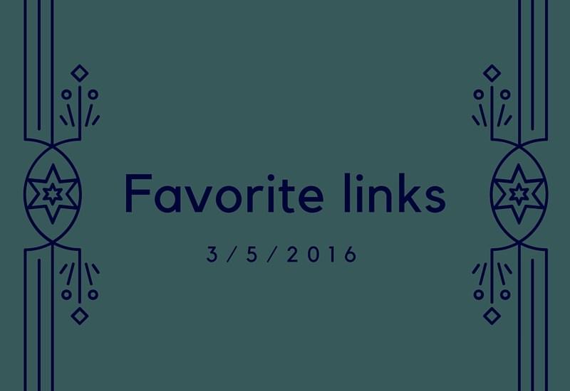 Favorite links of the week 3/5/2016 - running, health, science, recipes