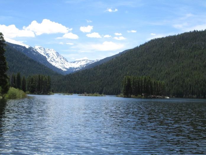 Monarch Lake Colorado - 4 mile easy hiking trail around the lake.