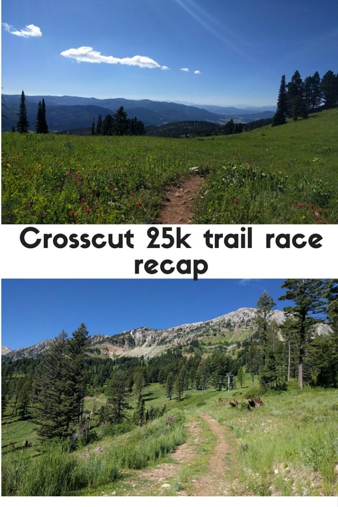 Crosscut 25k recap - 25k trail race at Bridger Bowl ski area