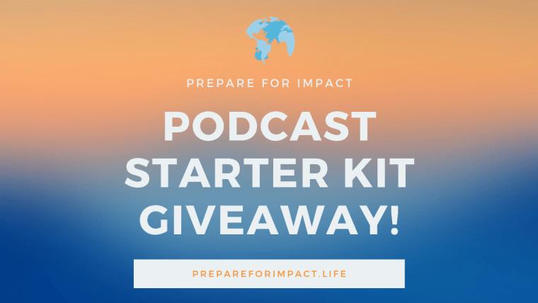 Podcast starter kit giveaway