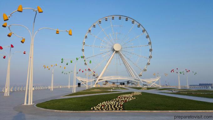 Ferries Wheel - Baku Eye