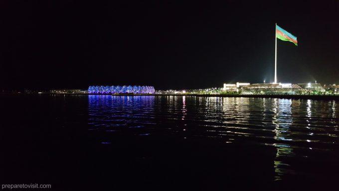 Crystal Hall and National Flag Square, Baku, Azerbaijan