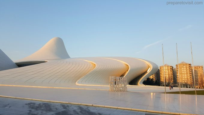 Heydar Aliyev Cultural Center, Baku, Azerbaijan