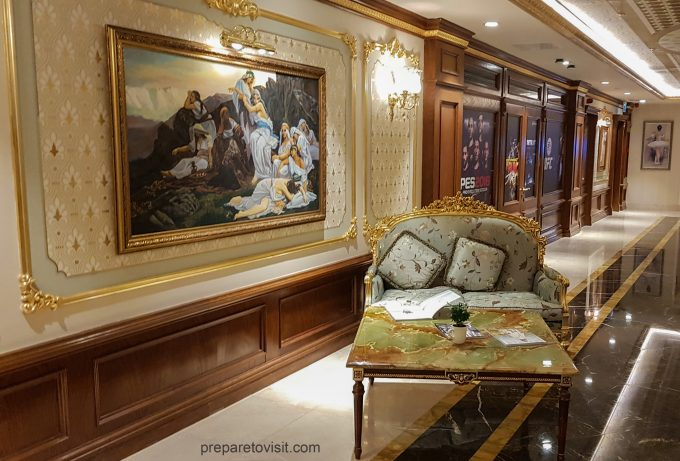 Lounge set: Shamakhi Palace Sharadil Mountain Resort, Azerbaijan
