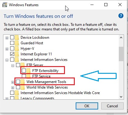 How to Setup FTP Server Windows 10