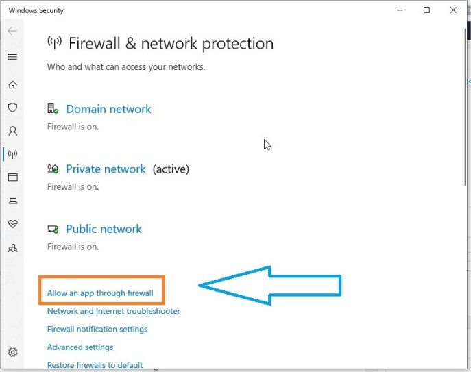 Windows 10 Firewall Blocking FTP