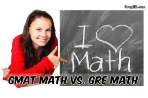 GMAT Math Vs. GRE Math