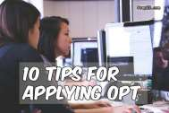 Tips For Applying Optional Practical Training