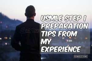 My USMLE preparation tips