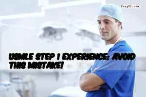 USMLE Step 1 Experience: Avoid This Mistake!