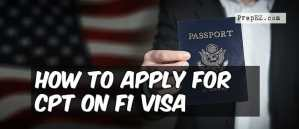 How to Apply for CPT on F1 Visa
