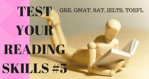 Test your Reading Skills #05