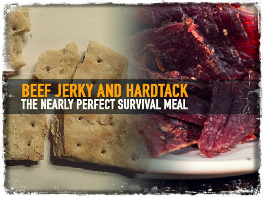 Hardtack and Beef Jerky survival prepperuniverse