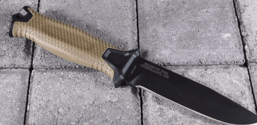 Gerber strong arm fixed blade handle