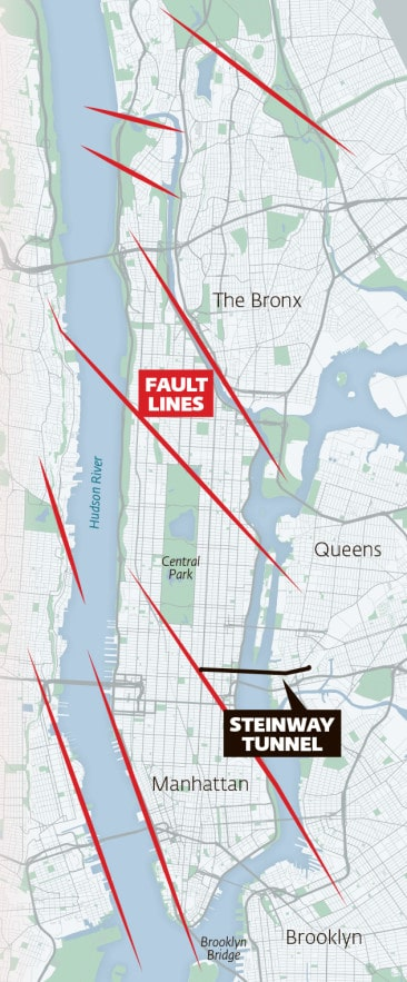New York City Fault Lines