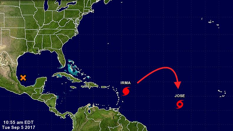tropical storm jose