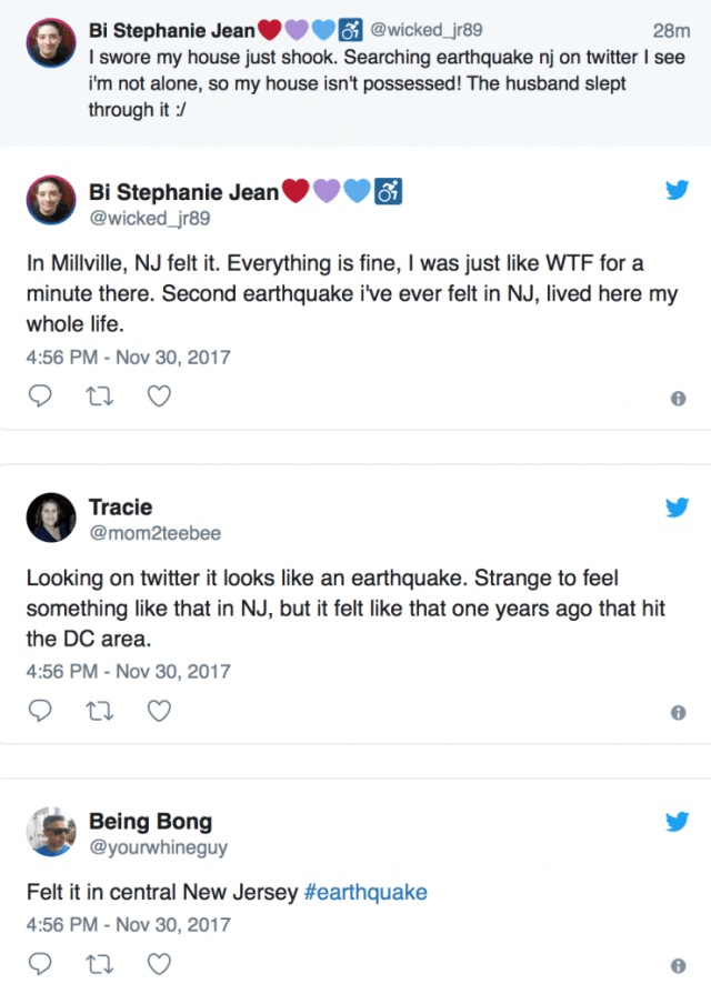earthquake new york