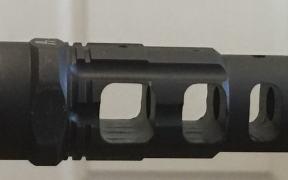 king comp muzzle brake