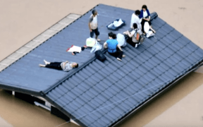japan flooding