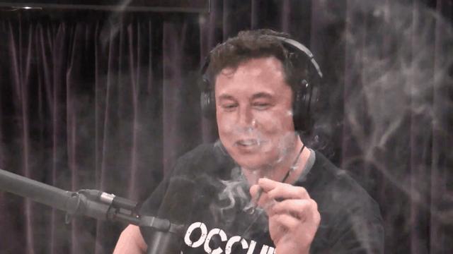 elon musk marijuana