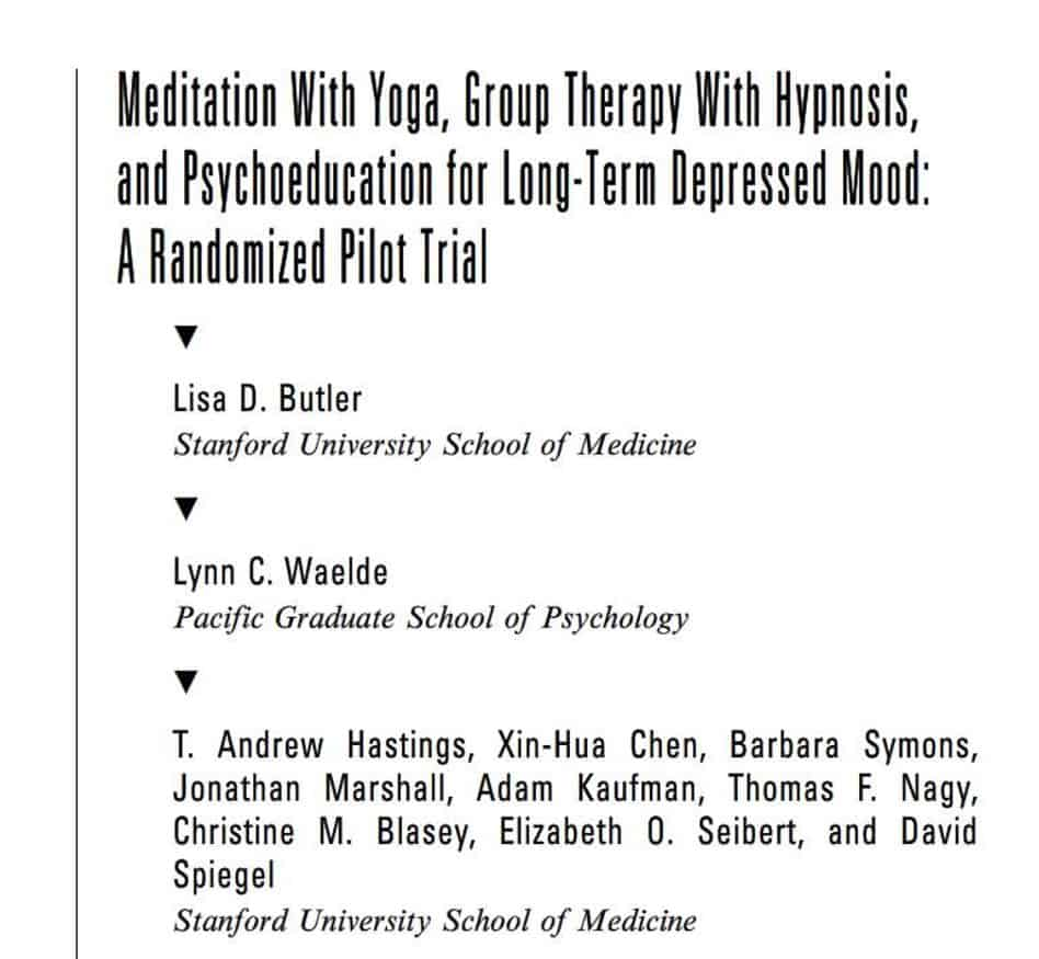 dr ford hypnosis paper