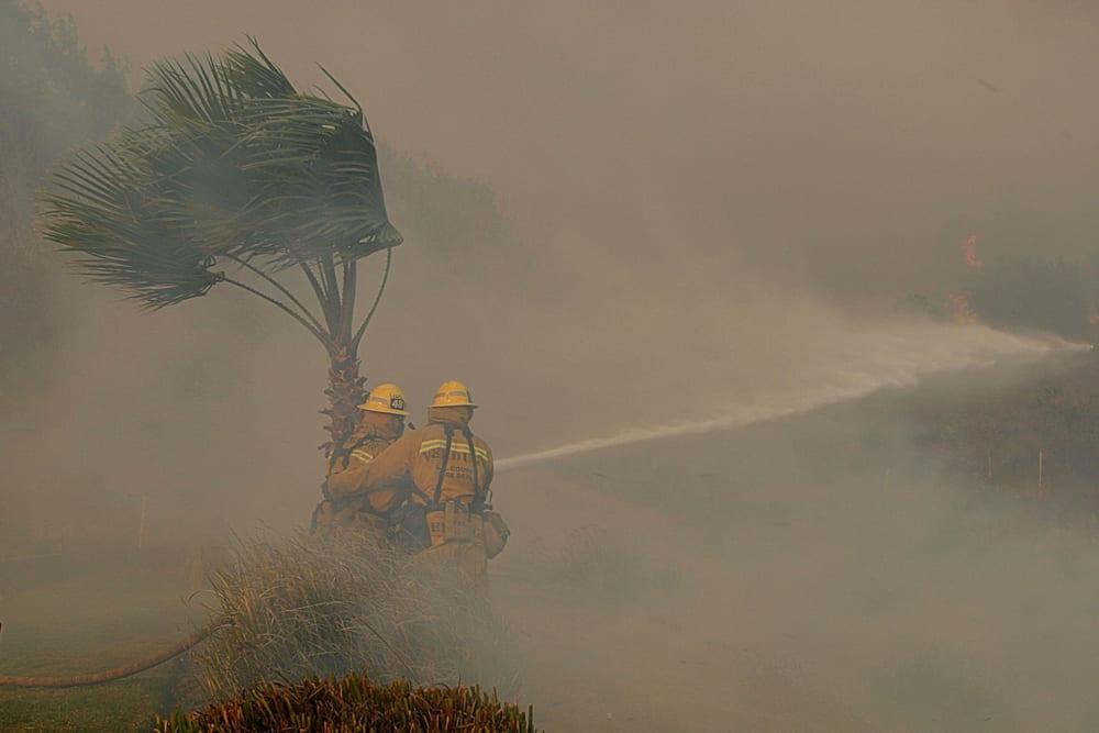 woosley fire contamination