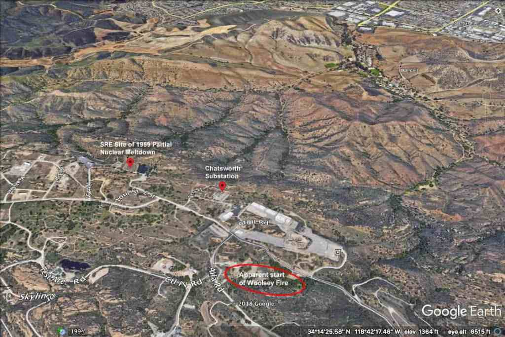 woolsey fire nuclear