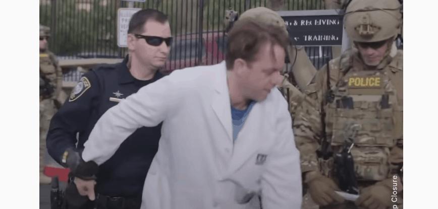 doctors arrested flu vaccines