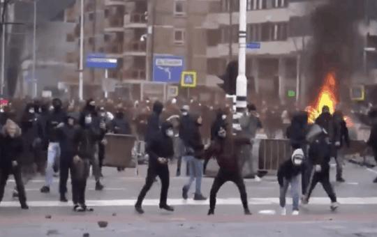 dutch coronavirus protests
