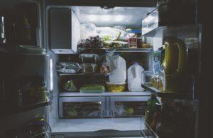 Fridge foods will expire quicker than shelf goods
