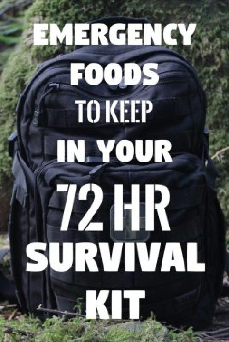 Food Supply: What Emergency Food Do You Need In A 72-Hour Kit?