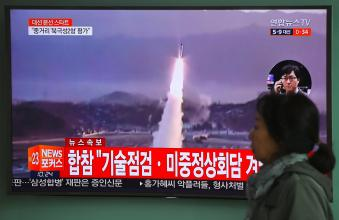 A nuclear attack on South Korea tv