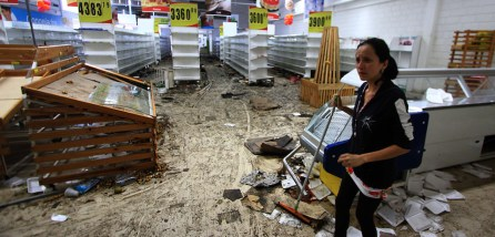 Venezuelan Economy has led to most stores being looted for food and supplies