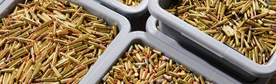 Ammunition is a valued item when the SHTF
