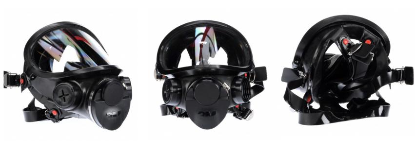 3M CBRN gas mask