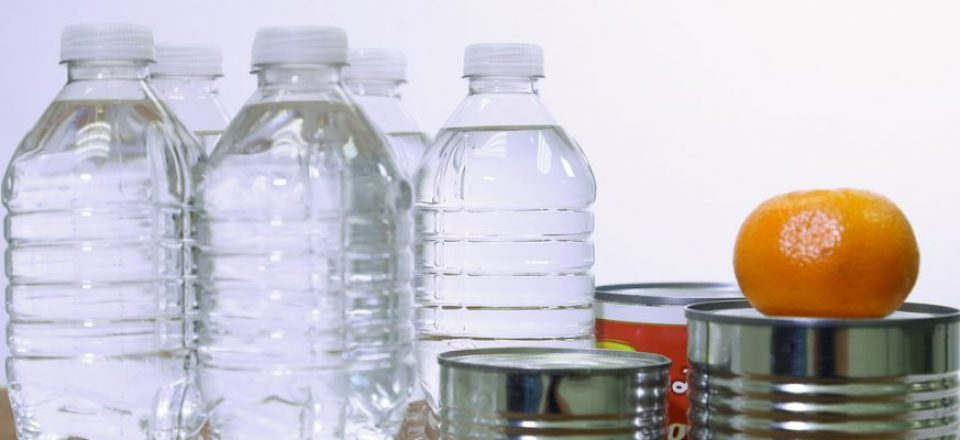 how much food and water do you need to survive
