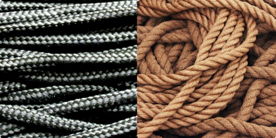 difference between paracord and rope?