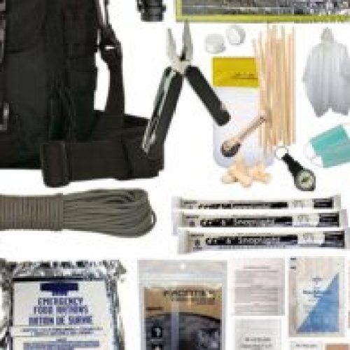 PREPPER'S FAVORITE Emergency Get Home Bag