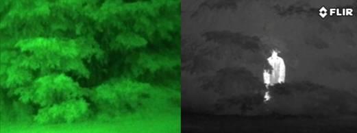 Thermal vs Night Vision