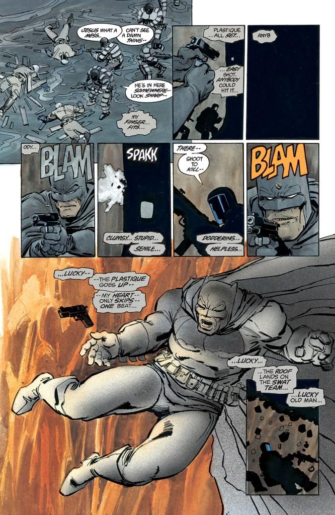 Les 10 meilleures BD de Superhéros de tous les temps The Dark Knight Returns de Frank Miller